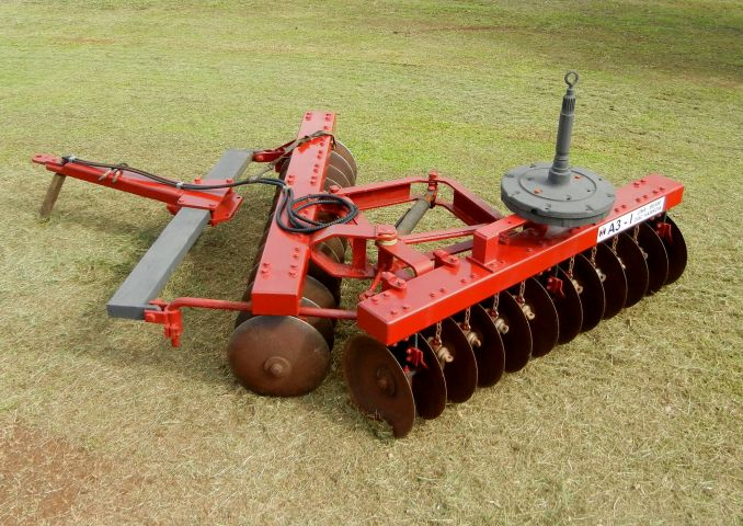 Repairs made by Maalacan Engineering to International Harvester Una-Beam Disc Harrow