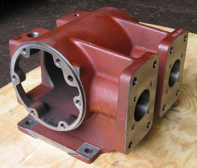 Machined Crankcase Housing