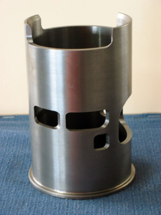 CNC Machined Cylinder Sleeve